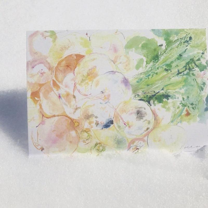 postcard / YASAI  お尻に満ちた