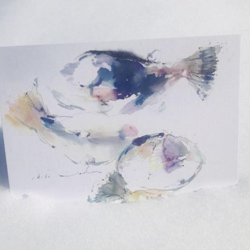 postcard / HAREMA フグの旋律
