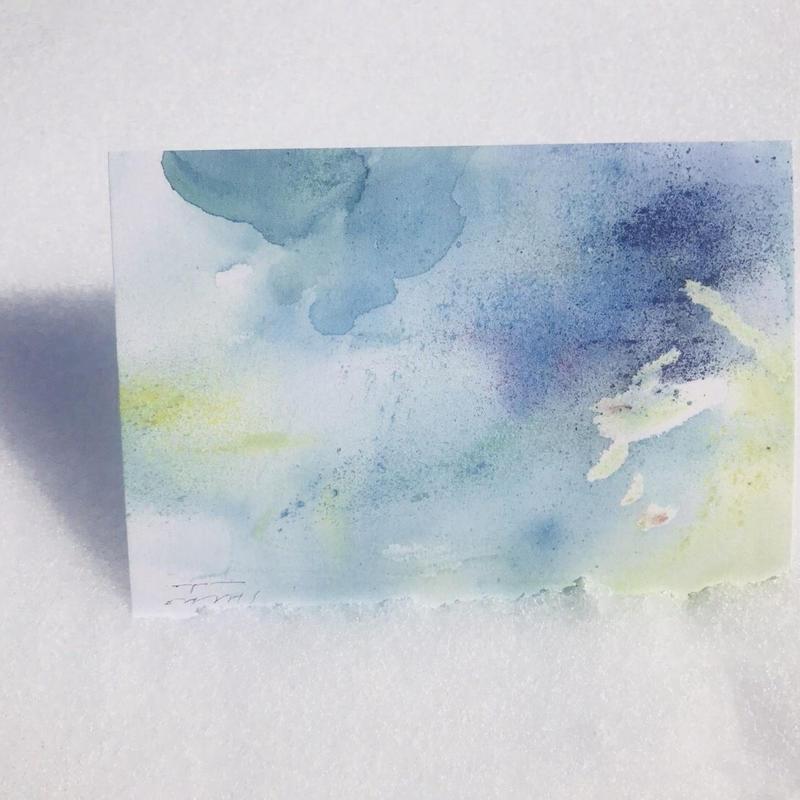 postcard / YASAI ありがとう全ての水たち