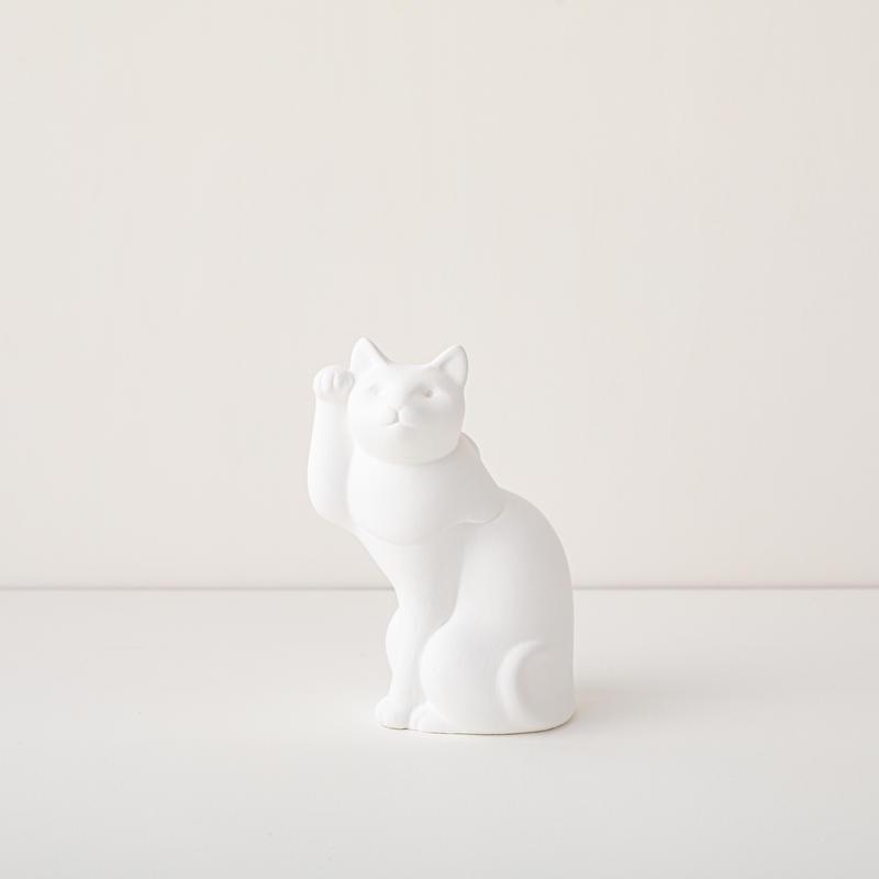 新吉原 招き猫「無垢(muku)」