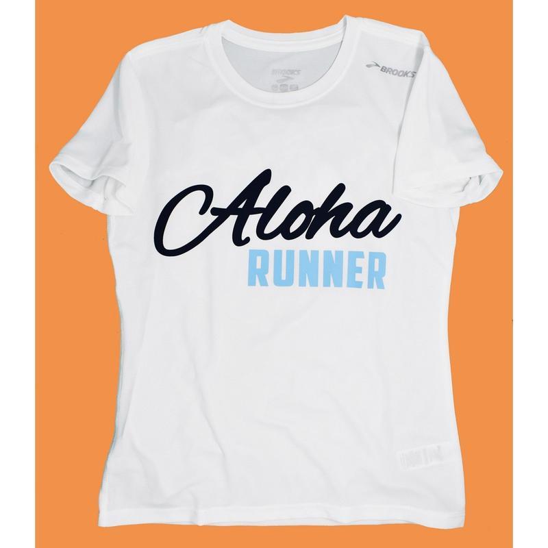 ALOHA RUNNER Tシャツ WH