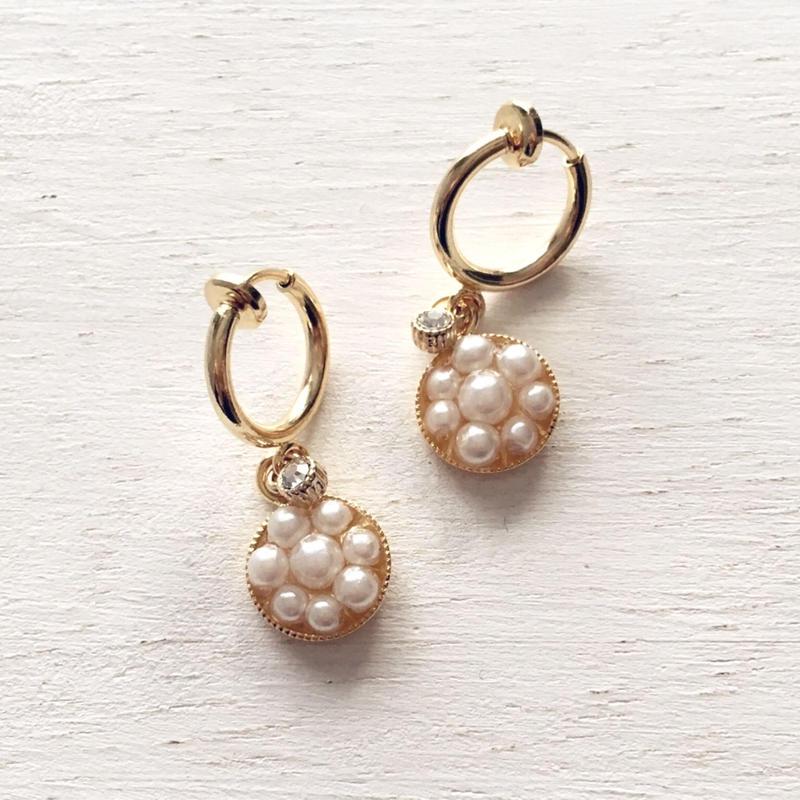 選べる金具 ★ Pave / Earrings