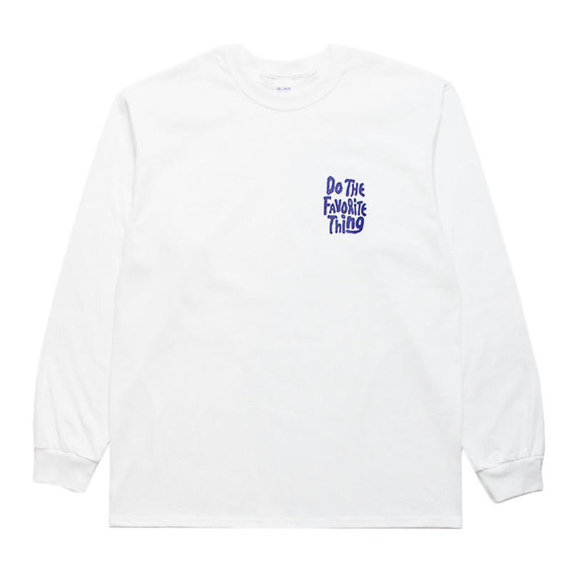 DO THE FAVORITE THING L/S TEE