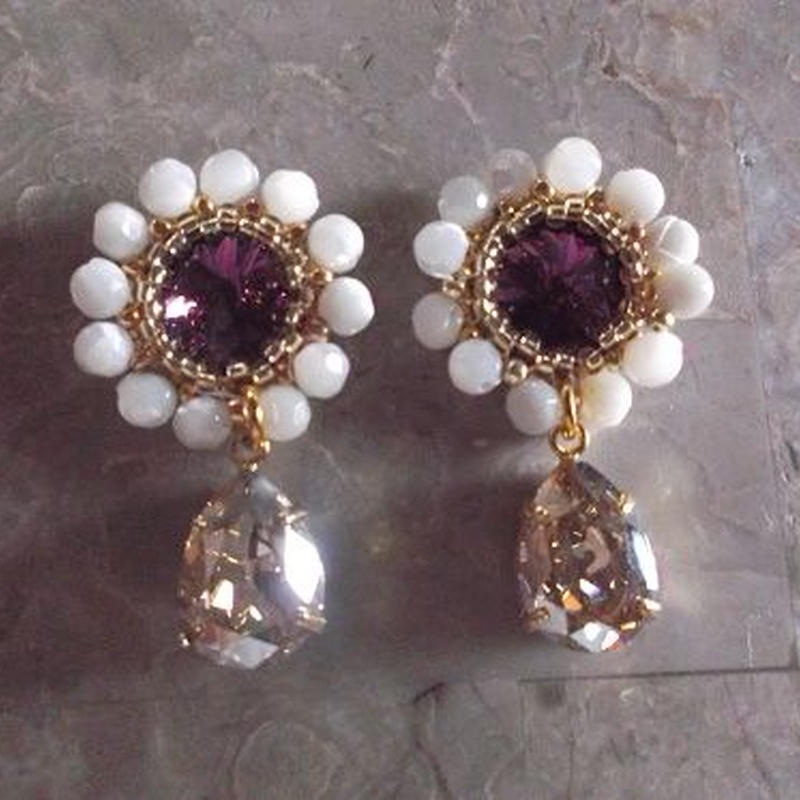 PEARLcollection Drop ピアス