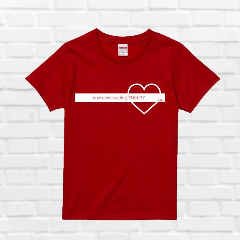 シンゾウTシャツ(赤)
