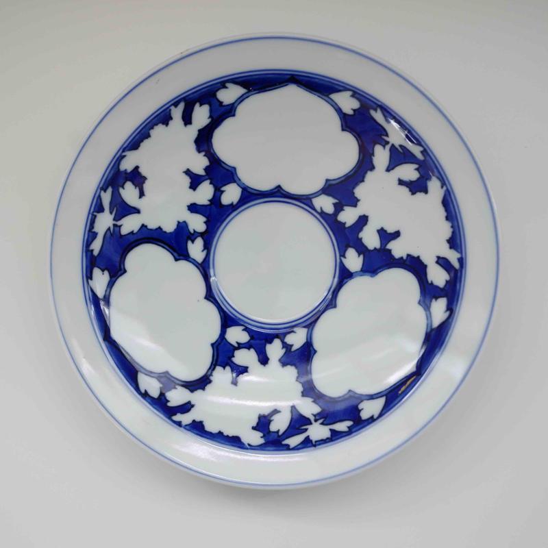 有田焼の三雲皿(白)