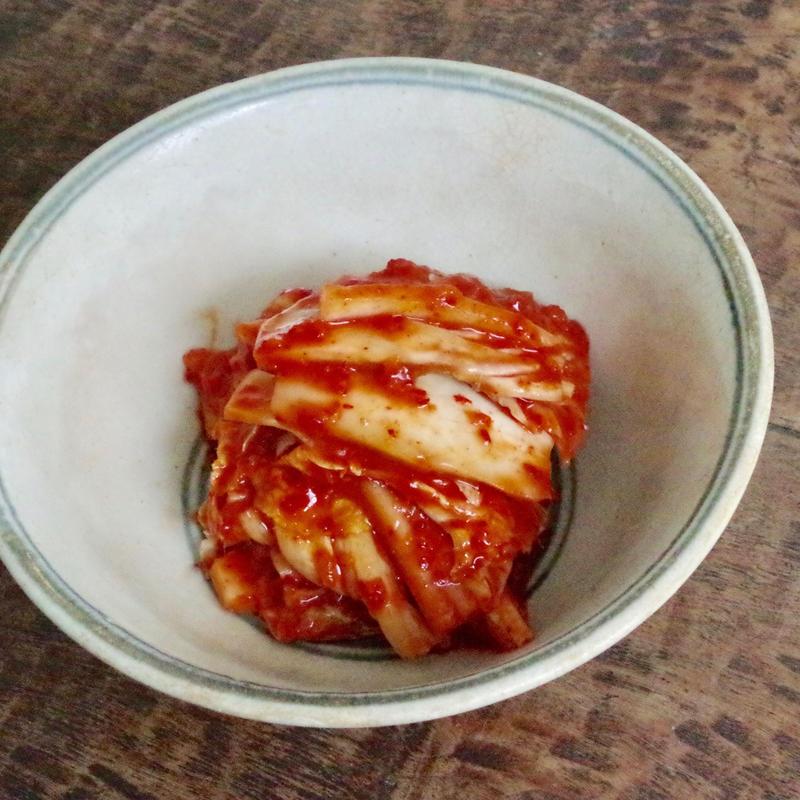 韓国料理研究家・崔誠恩先生が作る、高級白菜ホールカットキムチ450g 無化調