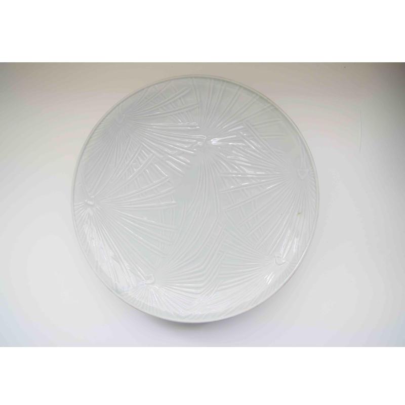 有田焼の白大皿