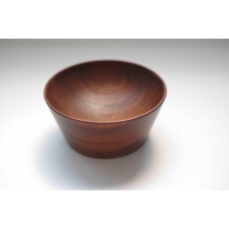 小原典子さんの木工・ブラックウォルナットのヨーグルトカップ(小)