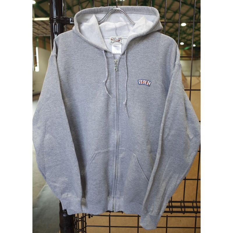Stripe Arch Zip hoodie ( HEATHER GREY) SH181613GRY