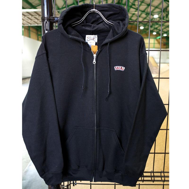 Stripe Arch Zip hoodie ( BLACK) SH181613BLK