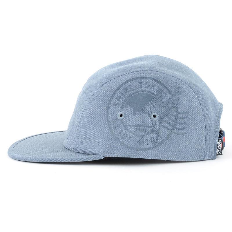 STAMP COMFORT-5 CAP (MIX BLUE) made in japan (SH150101MXB)