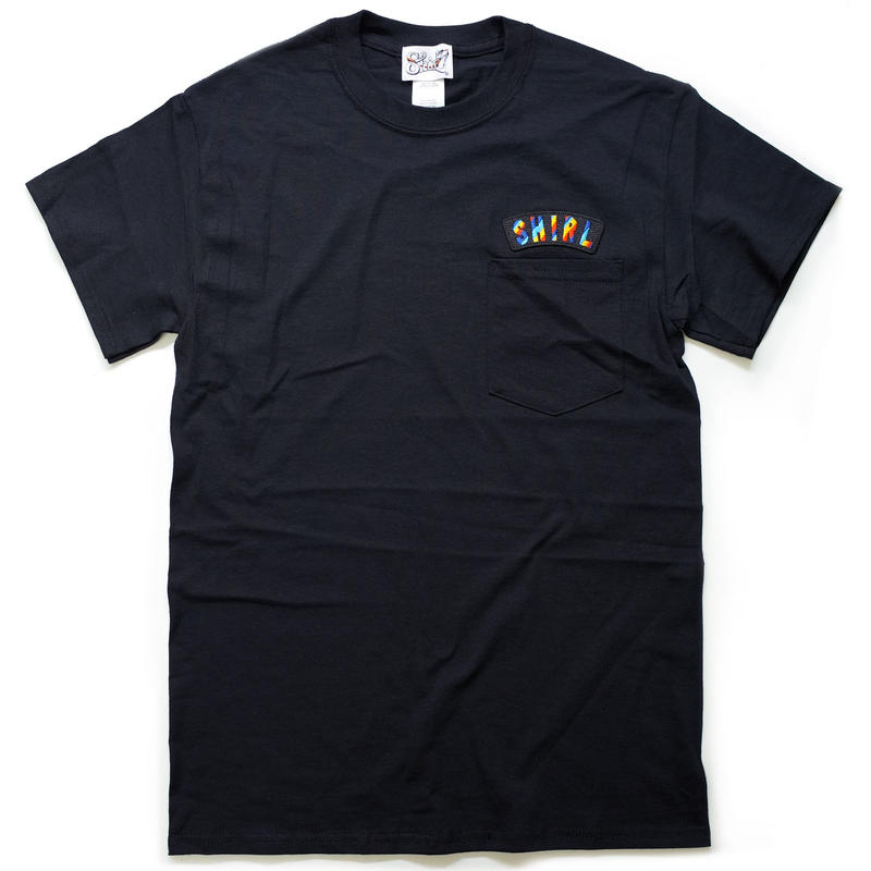 再入荷!RAINBOW ARCH SS POCKET T-SHIRTS  (BLACK)(SH181213BLK)