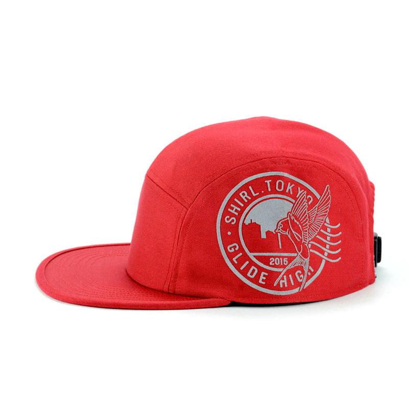 STAMP COMFORT-5 CAP (RED) made in japan (SH150101RED)