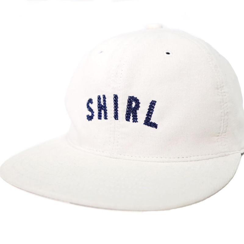 ARCH LOGO SPRING CORDUROY STRAPBACK 6PANEL CAP (WHITE) made in japan (SH170708WHT)