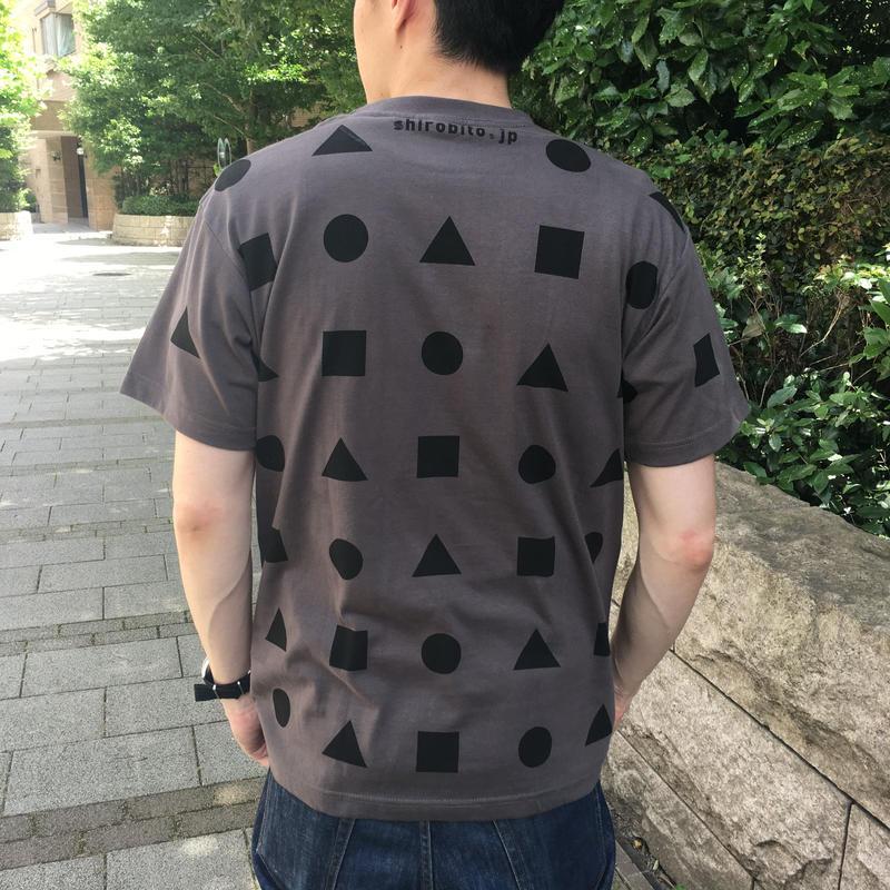 城びとTシャツ(狭間/チャコール/ユニセックス) ※宅配便での発送