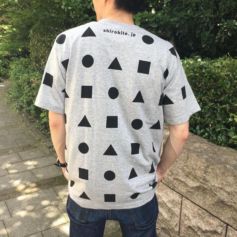 城びとTシャツ(狭間/グレー/ユニセックス)※宅配便での発送  のコピー