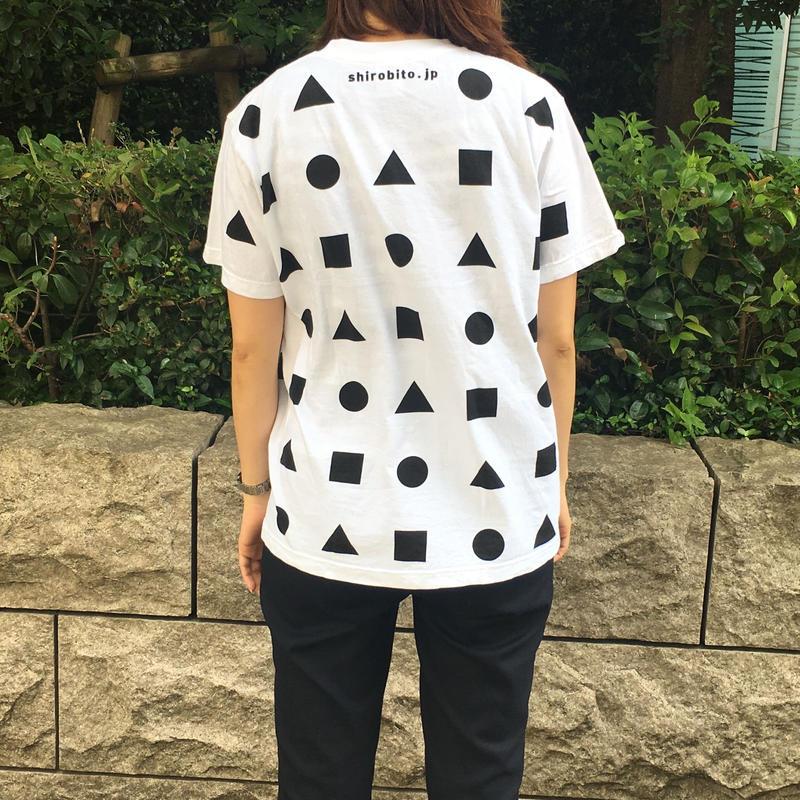城びとTシャツ(狭間/白/ユニセックス) ※宅配便での発送