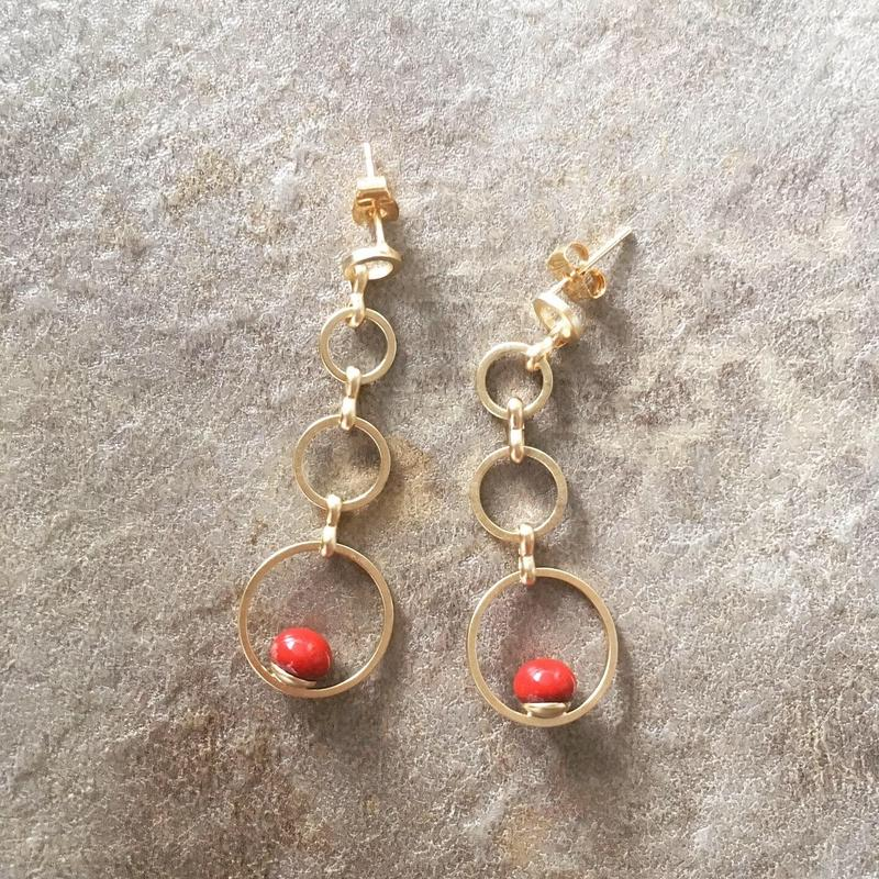 ring&glass pierce