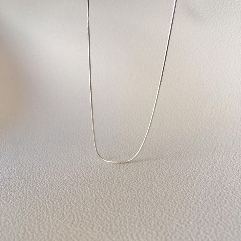 silver925 snake necklace