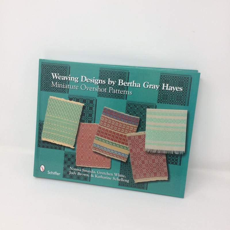 【古本(美品)】B254 Weaving Designs By Bertha Gray Hayes Miniature Overshot Patterns