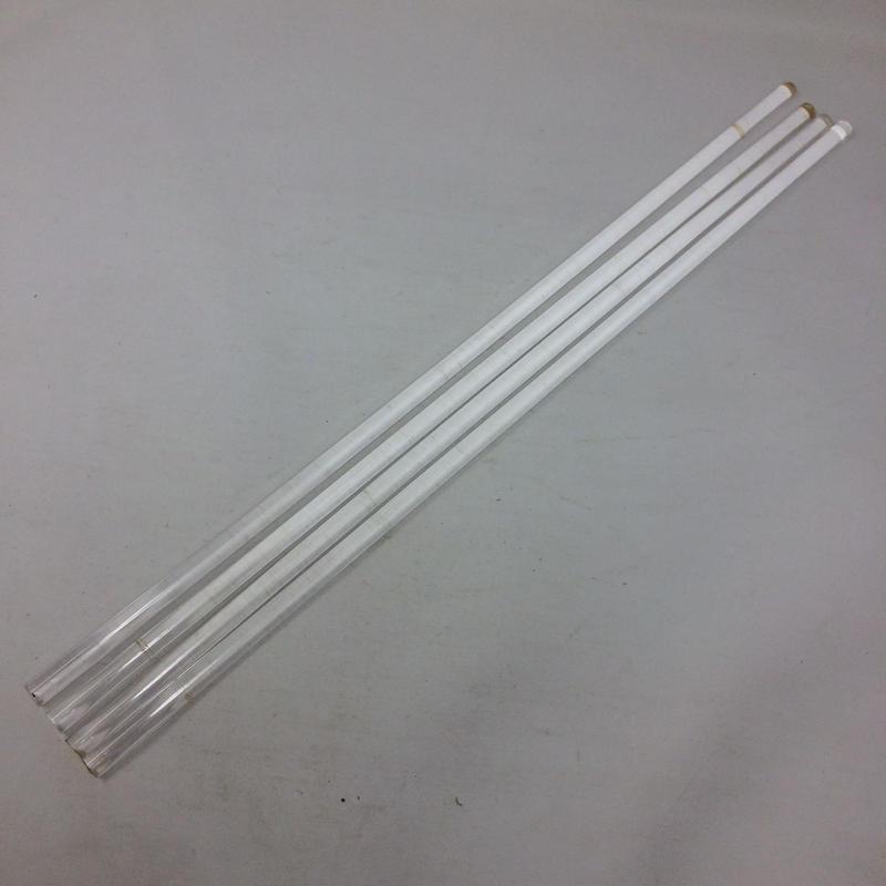 J043【USED】プラスチック 染色棒 4本 染織