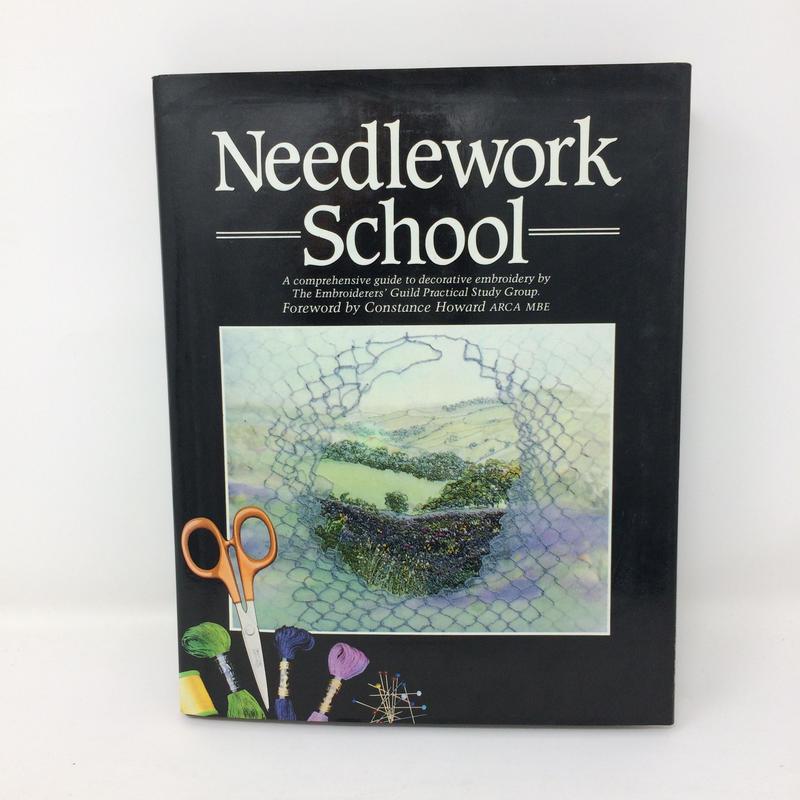 【古本】B243   Needlework School   Embroidery Guild Constance Howard Sewing