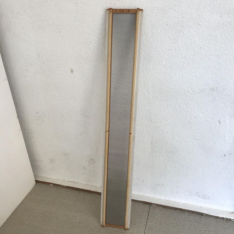 F005【USED】ステンレス筬 内寸60㎝ 10cm/50羽