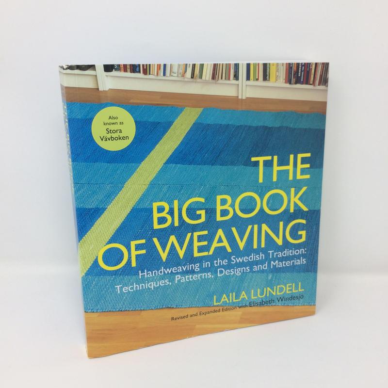 【古本・美品】B257  THE BIG BOOK OF WEAVING /  Laila Lundell