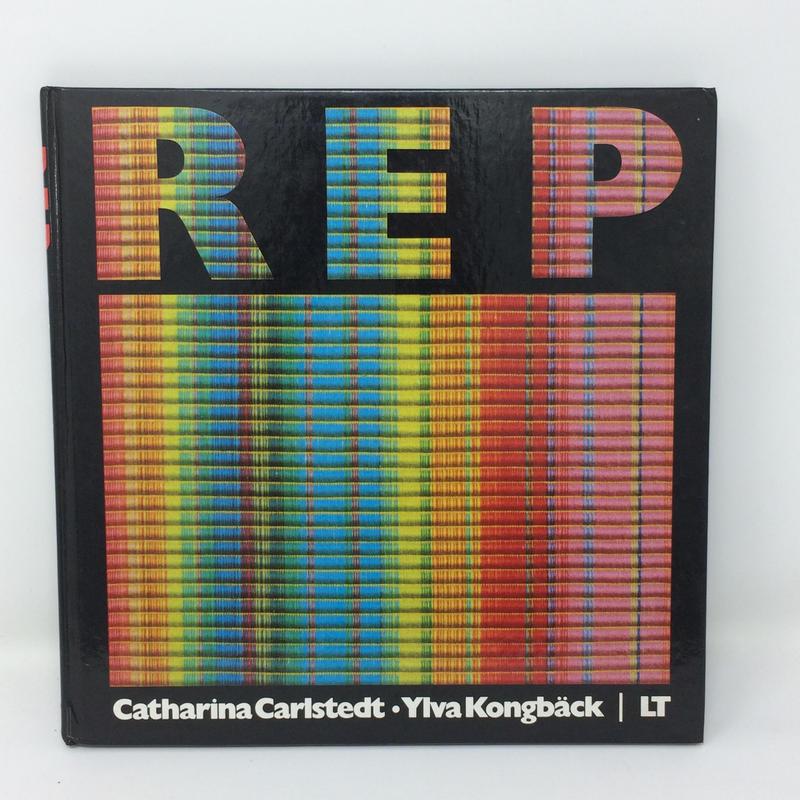 【古本】B239   希少 絶版 Rep Guide Swedish Warp Faced /  Carlstedt Catharina Kongback Ylva