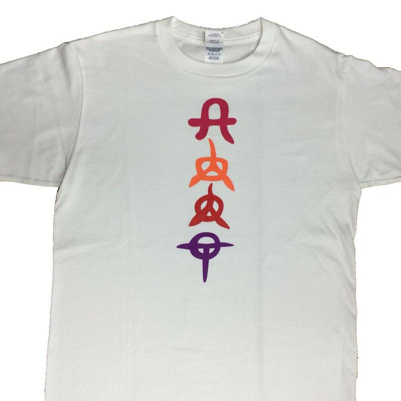 城ラマTシャツ(白)<フロントプリント>
