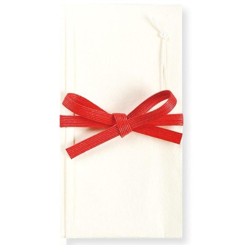 VKU4 麗か祝い袋 花結び 純白