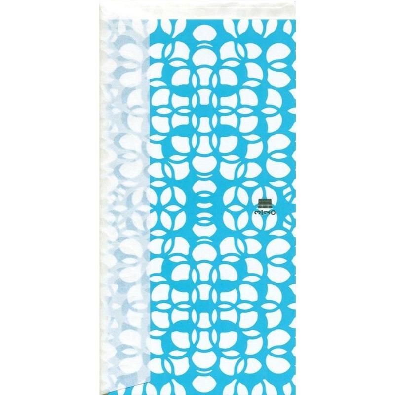 MINOK28 Greeting Card M Prism Aqua Green
