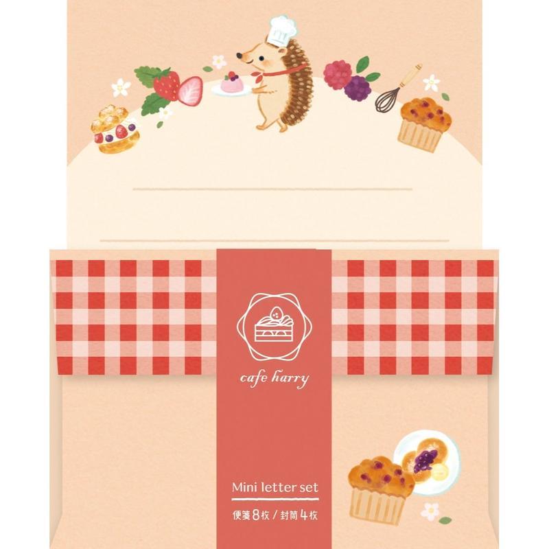 LT335 Forest cafe ミニレター cafe ハリー (01214)
