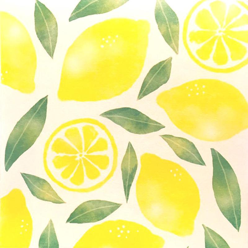【オンライン・店舗限定!】SHI047 メモパット レモン  EC046