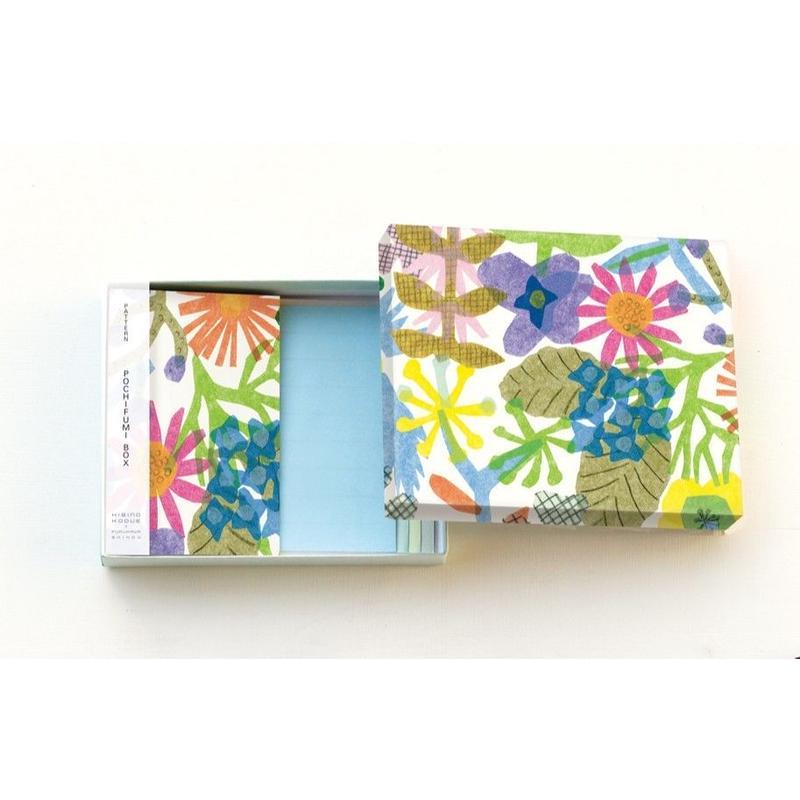 POL093 PATTERN POCHIFMI BOX FLOWERS
