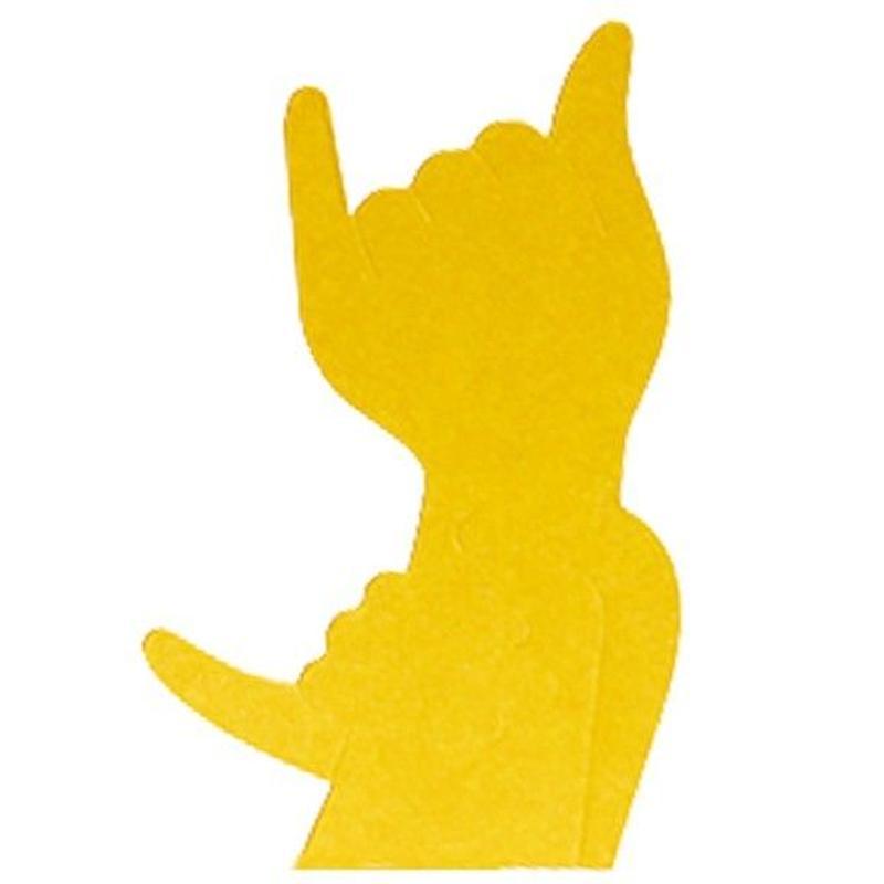 KMF106  Hand Shadows Card The Cat