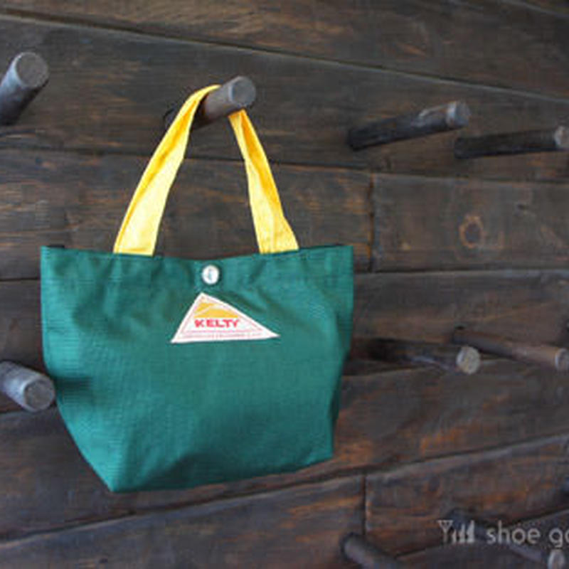 KELTY ケルティ / Mini tote Bag S(ミニトート バック S)/ FOREST×YELLOW