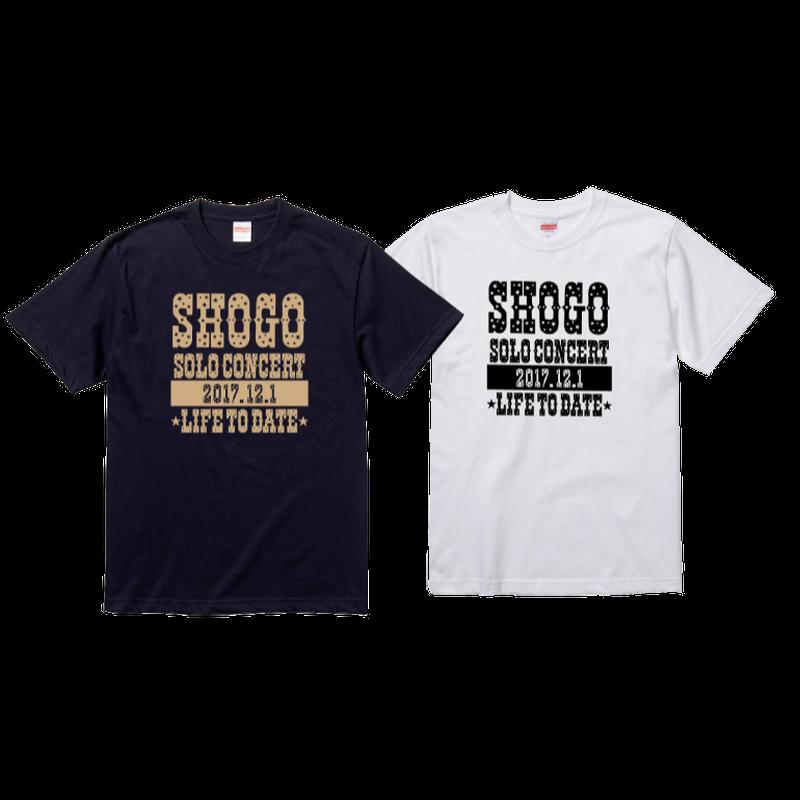 SHOGOソロコンサート2017公式グッズ Tシャツ(黒)