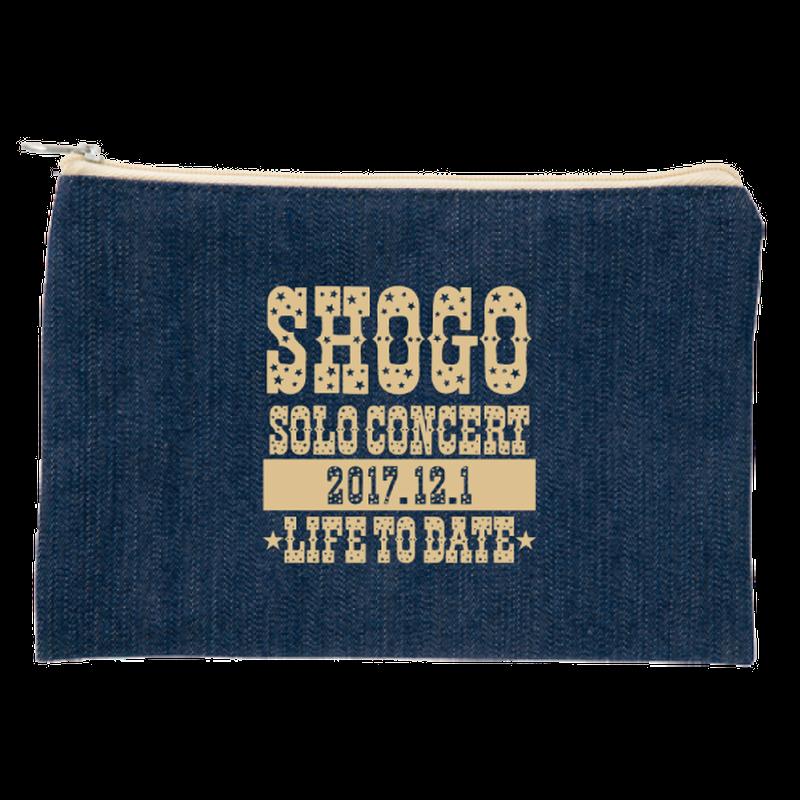 SHOGOソロコンサート2017公式グッズ デニムポーチ