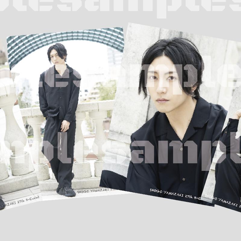 2019山﨑晶吾ブロマイドC(4枚セット)