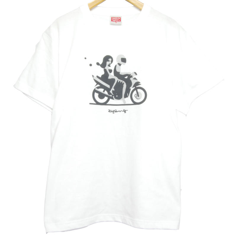 """CHANGUU RIDE"" T-Shirt   [WHITE]"
