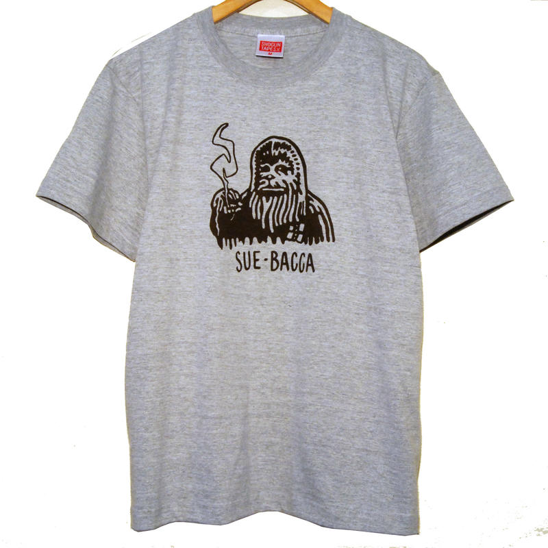 SUE-BACCA Tee  [GRAY]