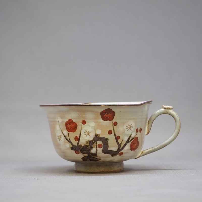 紅白梅 スープカップ