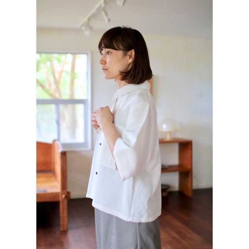 humoresque pocket shirt - natural -