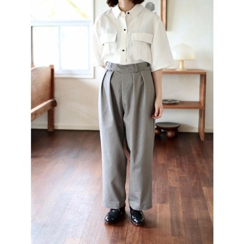 humoresque wide pants - gray -