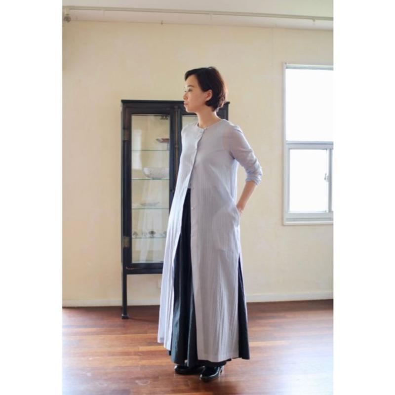 humoresque coat dress  – light gray –