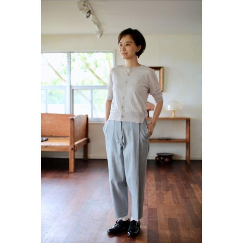 humoresque short sleeve cardigan - 2color -