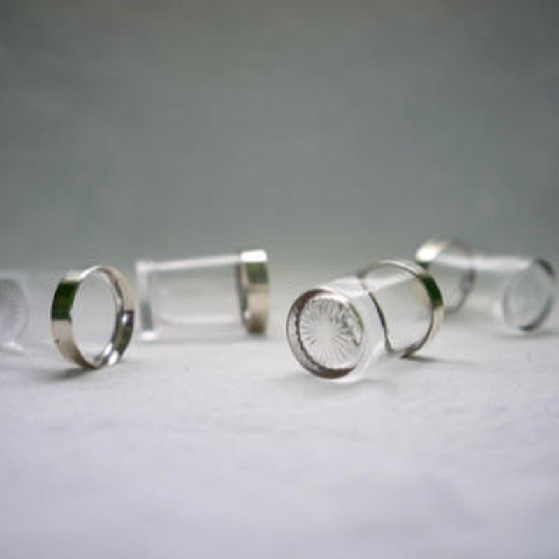 アンティーク ウイスキーショットグラス 4コ Set