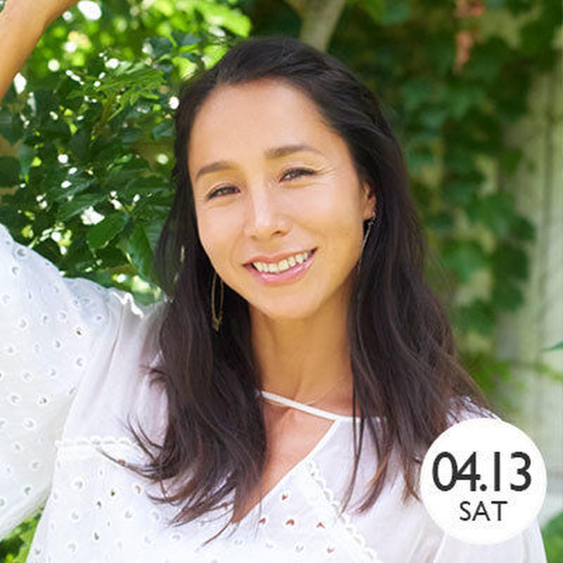 【アンジェラ・磨紀・バーノン】4月13日(土)15:00〜16:15〈75分〉(受付開始 14:30)@MARINE & WALK YOKOHAMA